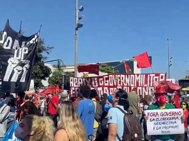 Protestos contra o presidente Jair Bolsonaro movimentam capitais neste sábado