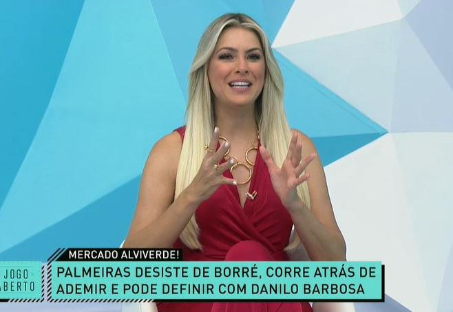 """Moiô"": Renata e Denílson analisam desistência de Borré e novos alvos do Palmeiras"