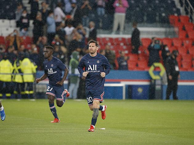 Messi sofre lesão no joelho e pode desfalcar o PSG