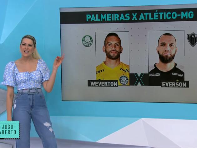 Com goleada para o Atlético, Jogo Aberto monta time ideal de Galo e Palmeiras