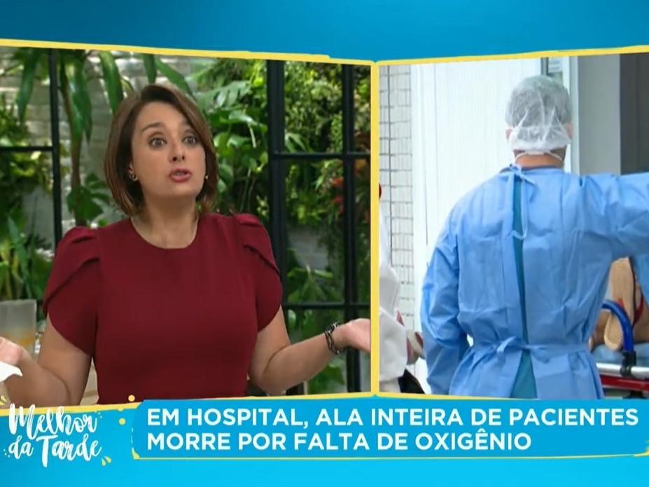 """""""Dava para ter feito diferente"""", diz Catia Fonseca sobre situação de Manaus"""