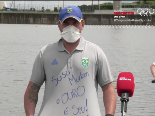 Técnico de Isaquias festeja ouro e homenageia ex-treinador vítima de câncer