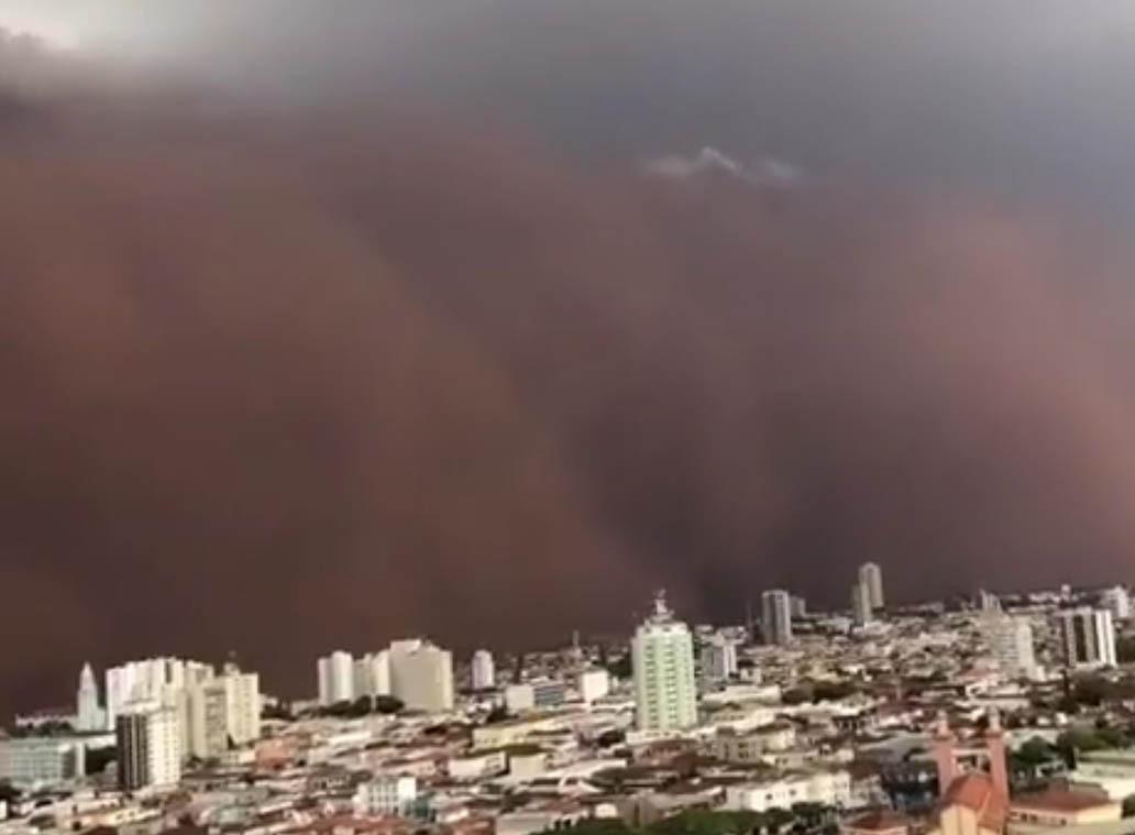 O que é a tempestade de areia que atingiu o interior de São Paulo?