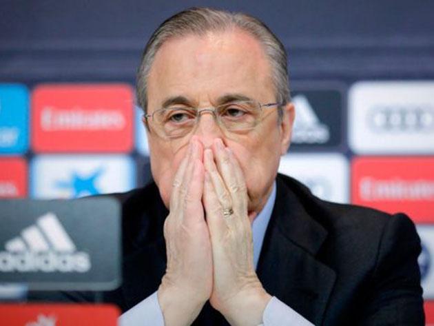 Presidente do Real Madrid, Florentino Pérez foi um dos idealizadores da Superliga