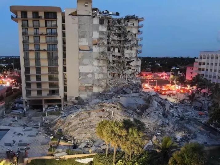 Autoridades de Miami investigam as causas do desabamento de um prédio na cidade