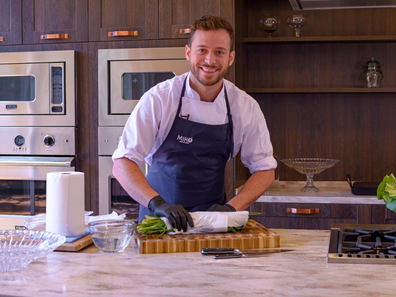 Band Receitas lança série de vídeos 'Dicas de Minutos' com o chef Dalton Rangel no Youtube
