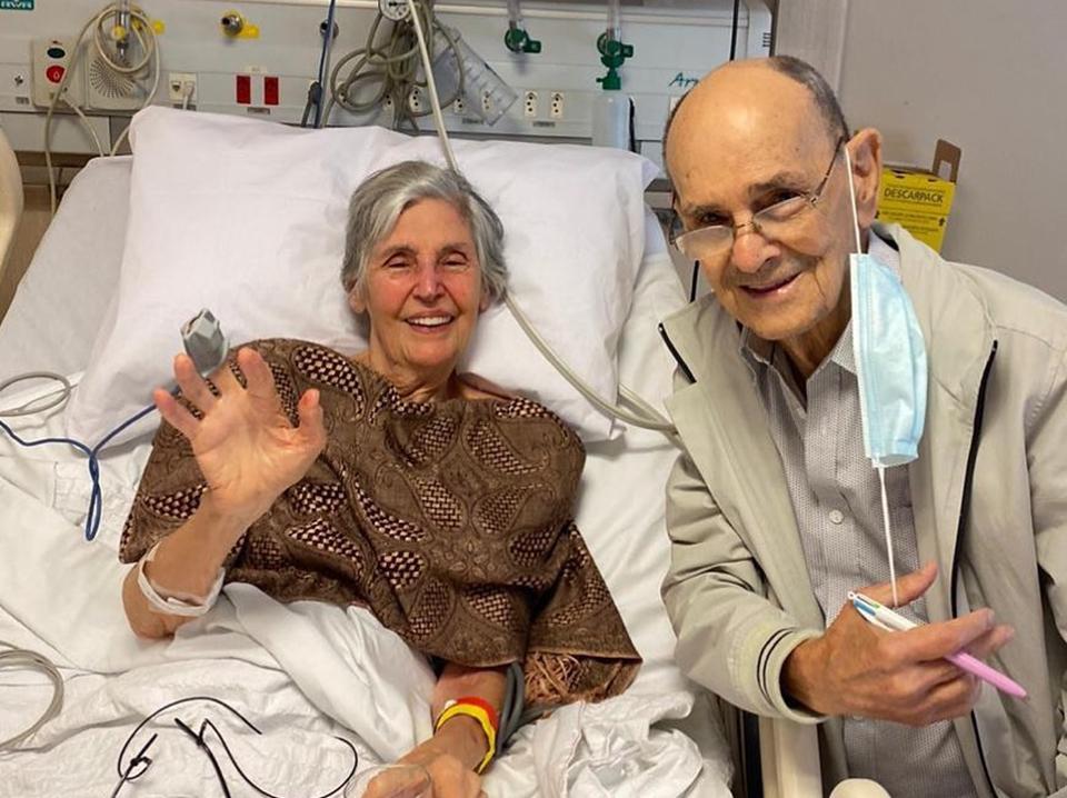 Mãe de Fátima Bernardes passa por cirurgia após tombo doméstico