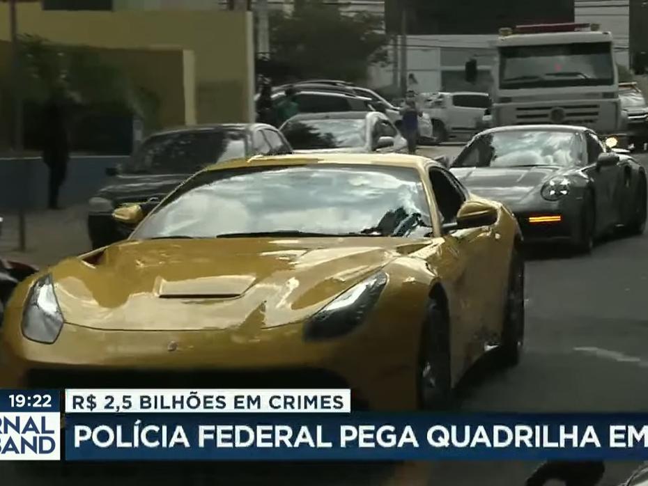 Polícia Federal prende quadrilha que movimentou mais de R$ 2,5 bi