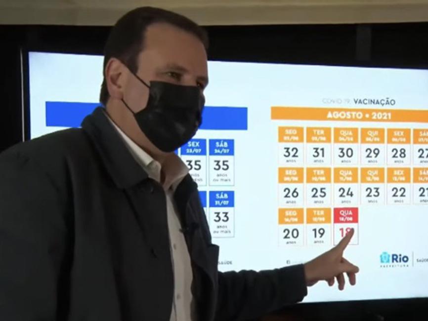 Prefeitura do Rio de Janeiro antecipa novamente o calendário de vacinação; veja as datas