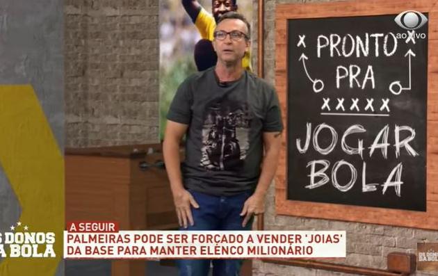 """Neto diz que Palmeiras não pode aceitar proposta por Menino: """"Dinheiro de pinga"""""""