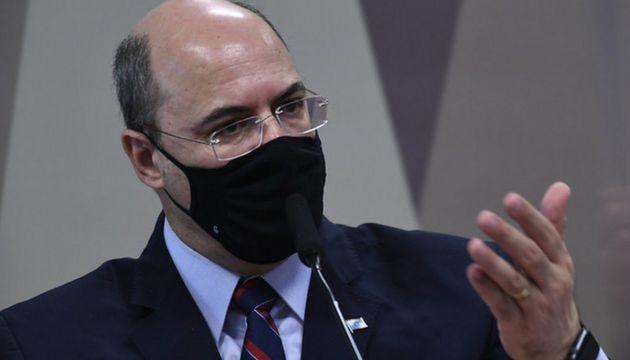 Witzel abandona sessão da CPI após ser questionado sobre a compra de respiradores no RJ