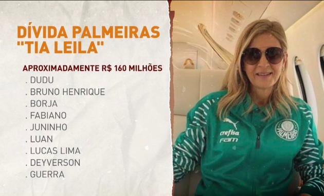 """Neto diz que Leila deveria ser presidente do Brasil: """"Não quer vir para o Corinthians?"""""""