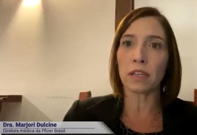 Márjori Dulcine, diretora médica da Pfizer no Brasil, deu entrevista à BandNews FM