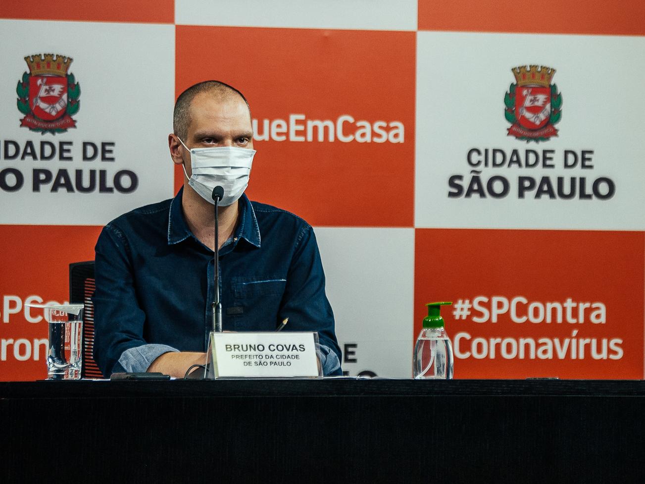 Bruno Covas continua hospitalizado e sem previsão de alta