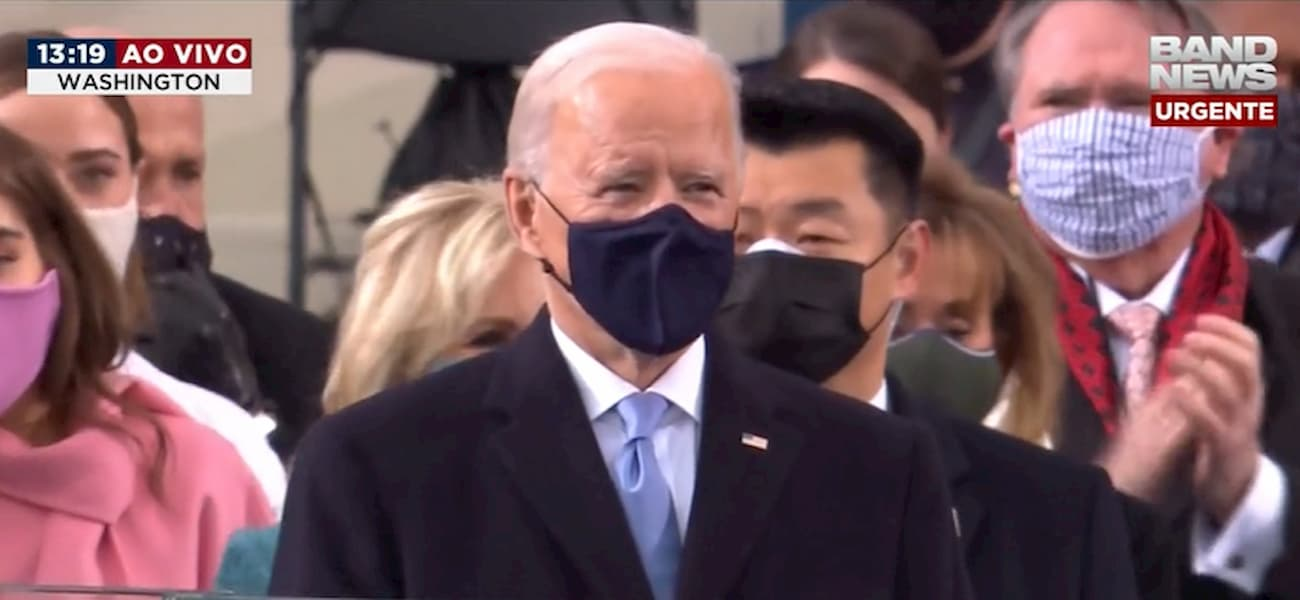 "Biden toma posse como presidente dos EUA: ""A democracia prevaleceu"""