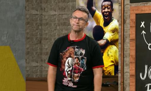 """Neto comemora saída do """"mascarado"""" Daniel Alves e detalha negociação"""