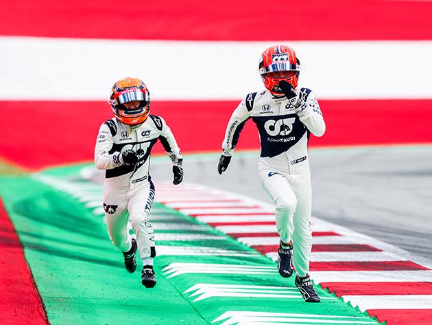 F1: AlphaTauri mantém Gasly e Tsunoda para a próxima temporada