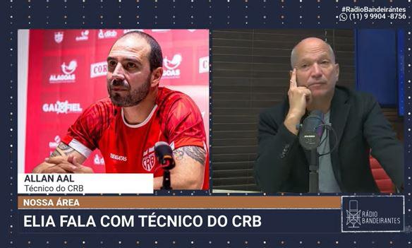 """Técnico diz que CRB foi humilde contra o Palmeiras e comemora """"momento especial"""""""