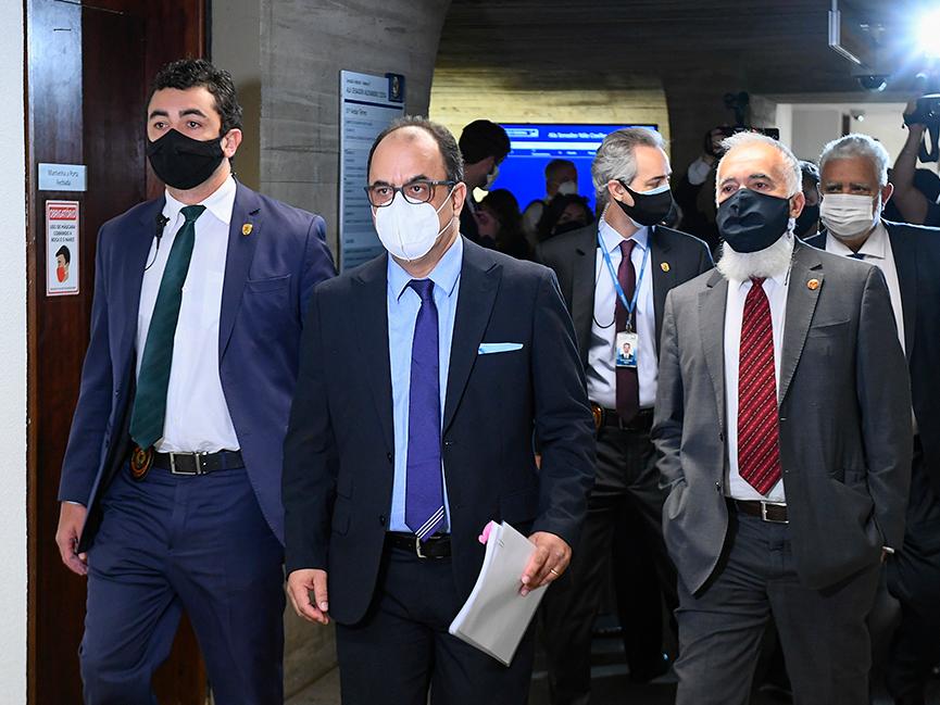 CPI da Pandemia ouve reverendo Amilton Gomes de Paula