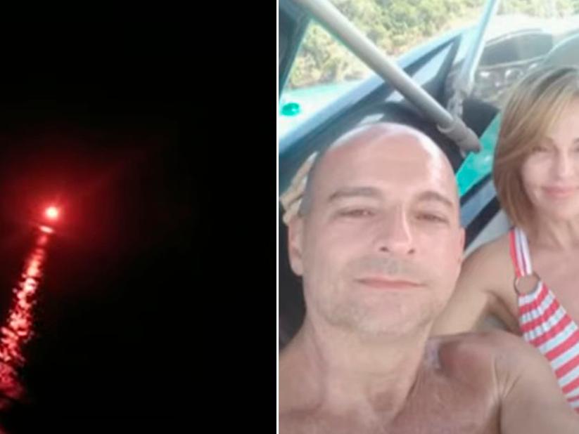 Testemunha diz que viu sinalizador onde casal desapareceu em Angra dos Reis (RJ)