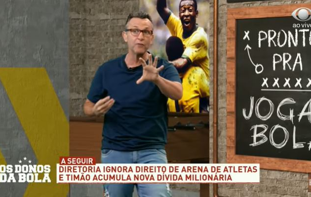 Neto se revolta com nova dívida e insiste que vai ser presidente do Corinthians