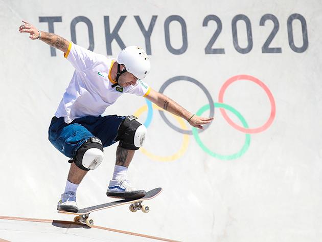 Pedro Barros conquista medalha de prata no skate park; australiano vence