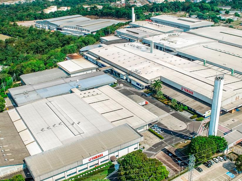 Yamaha suspende parcialmente atividades em Manaus