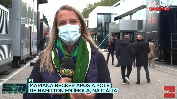 """Mariana Becker sobre Vettel: """"Um tetracampeão do mundo não desaprende a pilotar"""""""