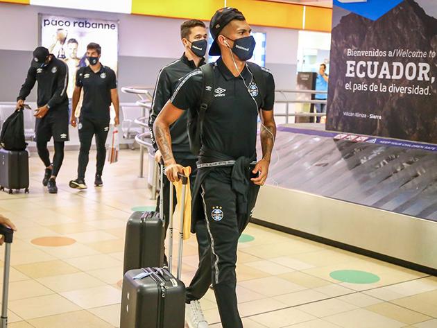 Libertadores: Jogo entre Grêmio e Del Valle é adiado após casos de covid-19