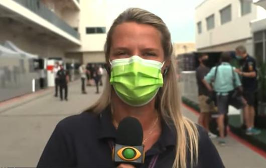 F1 na Band: direto de Austin, Mariana Becker projeta GP dos EUA