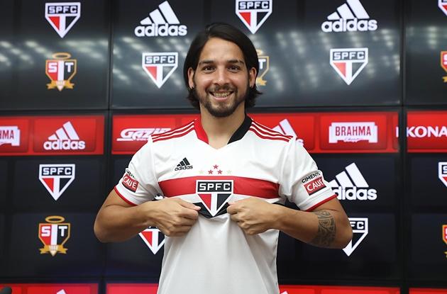 Benítez é o novo camisa 8 do São Paulo