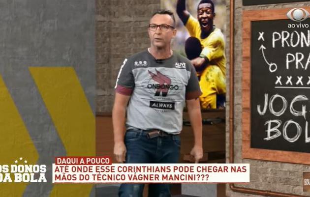 """Neto defende convocação de Reinaldo e diz que seleção """"é uma mentira"""""""