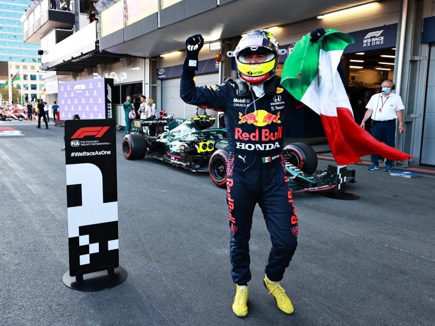 """""""Hamilton não me deixou tranquilo em nenhum momento"""", diz Pérez"""