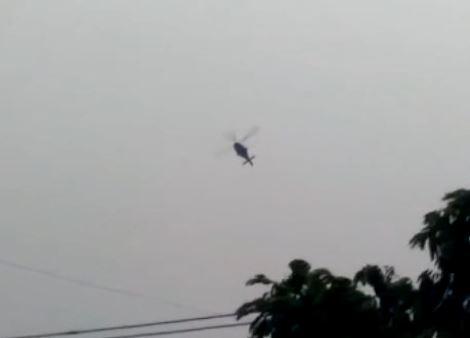 Helicóptero cai no interior do Amazonas; uma pessoa morre