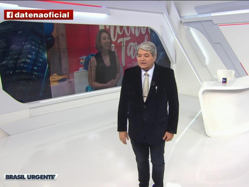 """Datena revela que não gosta do grupo ABBA: """"Chato pra caramba"""""""