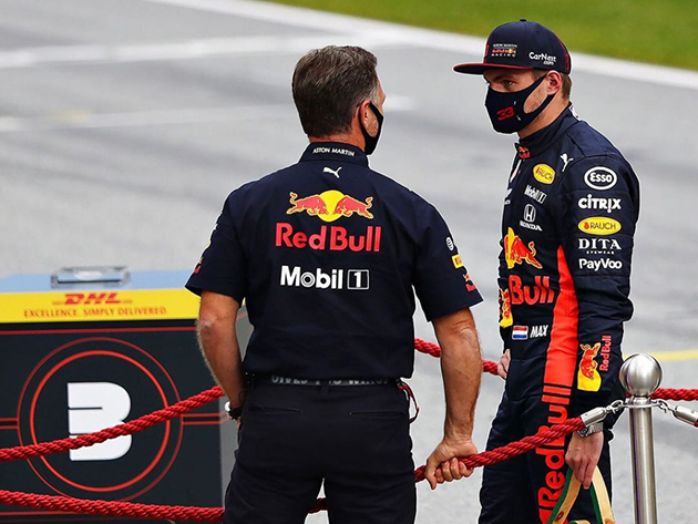 Verstappen é a primeira opção da Mercedes em caso de saída de Hamilton, diz chefe da RBR