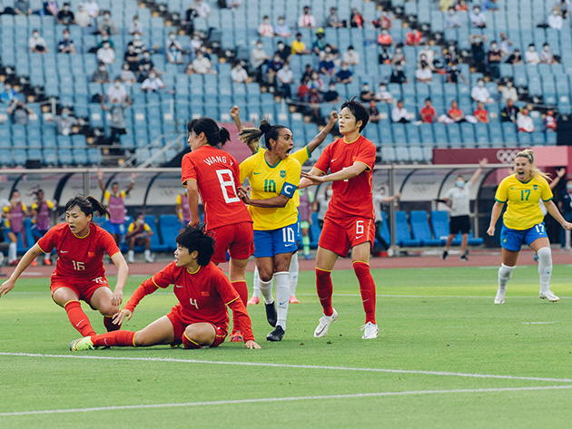 Além de Marta, seleção contou com gols de Debinha, Zaneratto e Andressa Alves