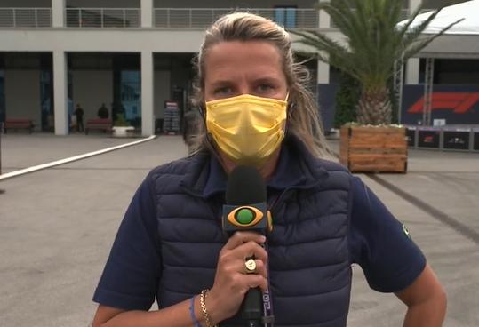"F1 na Band: Mariana Becker diz que Verstappen ""precisa se achar"" na Turquia"