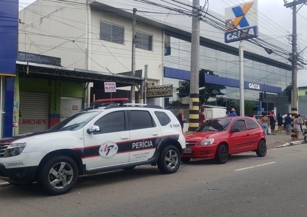 Polícia investiga furto de armas de agência da Caixa em São José dos Campos