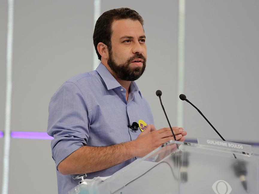 Candidato a prefeito em SP, Guilherme Boulos testa positivo para Covid-19