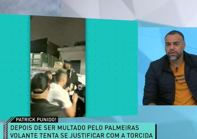 """Denílson critica desculpas de Patrick de Paula: """"Parece que acha que não errou"""""""