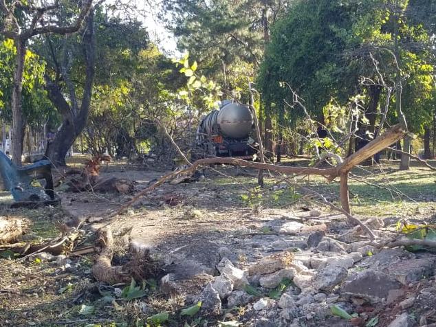 Horto Municipal é reaberto em Taubaté após acidente com caminhão no local