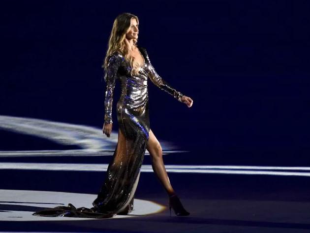 Gisele brilhou no Maracanã em 2016
