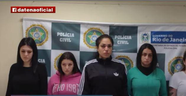 """Polícia investiga ligação de filha de Belo com """"blogueiras do crime"""" presas no Rio"""