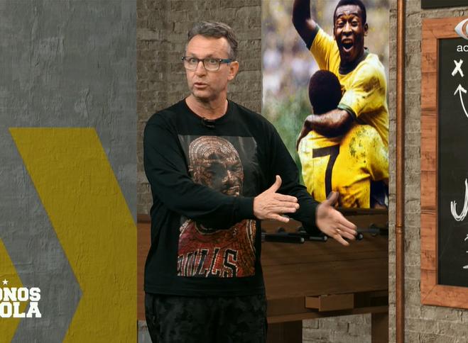 Neto elogia Abel e Felipe Melo e diz que Weverton é melhor goleiro do mundo