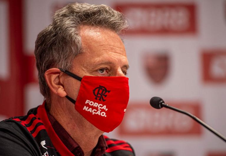 """Presidente do Flamengo elogia """"arbitragem correta"""" e Rogério Ceni após Supercopa"""