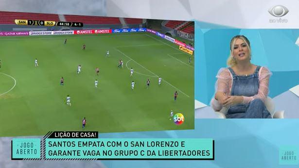 """Renata e Denílson analisam """"invenções"""" de Holan e bronca de Marinho na classificação do Santos"""