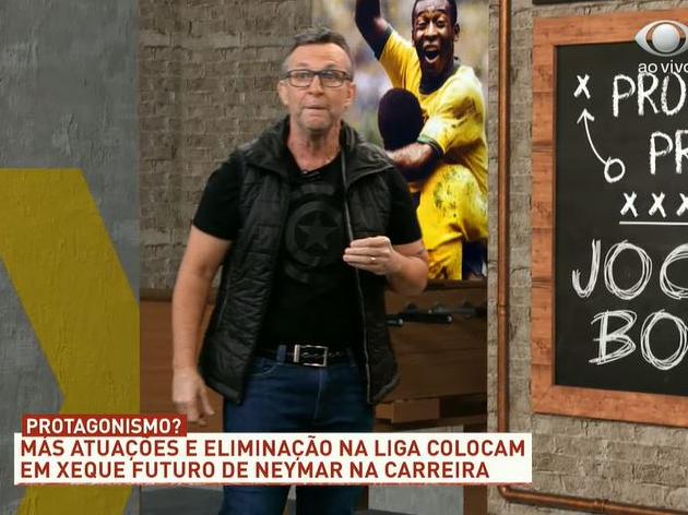 """Neto detona """"mimadinho"""" Neymar: """"Vai perder até a Copa da França"""""""