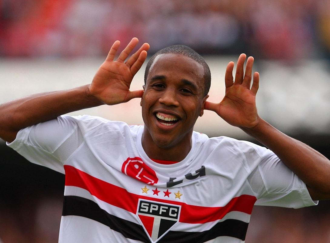 O ex-atacante Borges atuou no São Paulo na década passada