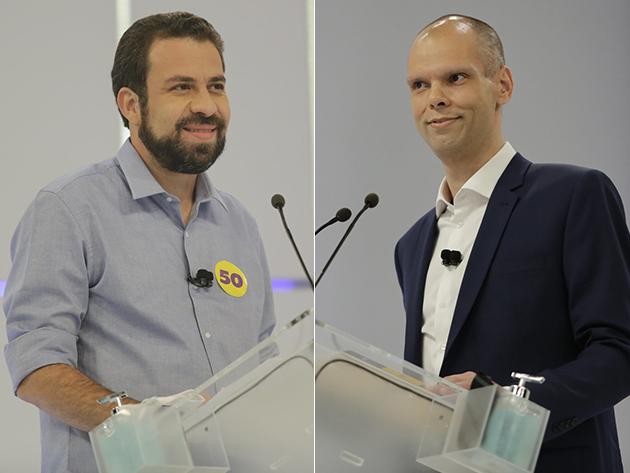 Paraná Pesquisas: Covas aparece com 47% das intenções de voto e Boulos, 39%